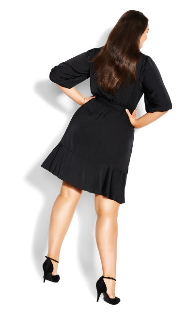 Bold Love Dress - black