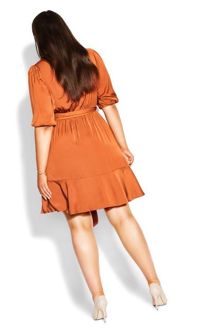 Bold Love Dress - caramel