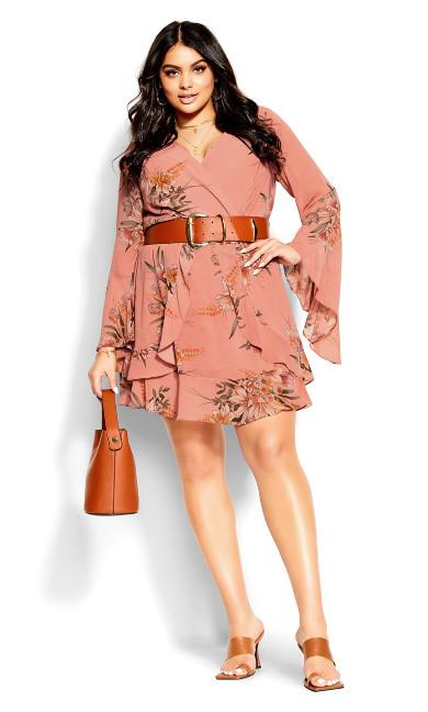 Sweet Nomad Dress - guava