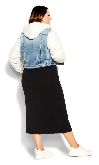 Shearling Jacket - denim