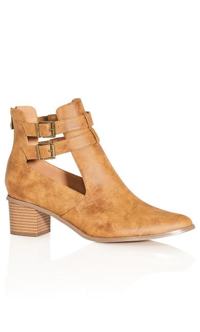 Rita Ankle Boot - salted caramel