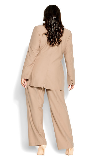 Perfect Suit Jacket - caramel
