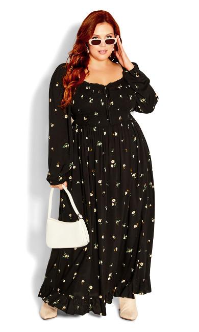 Darling Ditsy Maxi Dress -