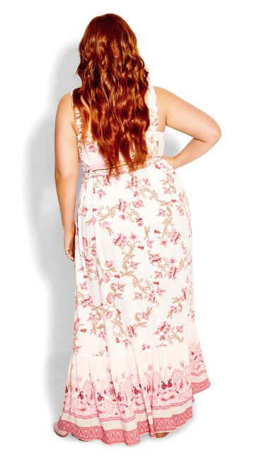 Floating Maxi Dress - ivory