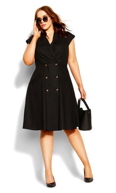 Chic Lafayette Dress - black