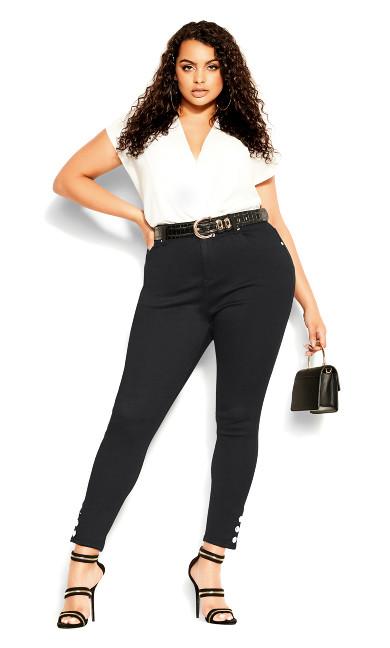 Asha Outlaw Jean - black