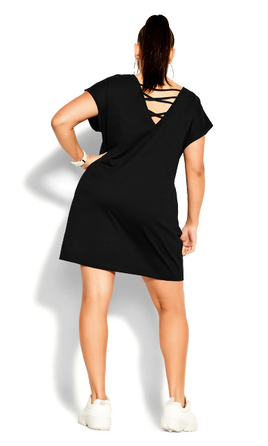 Unravel Dress - black