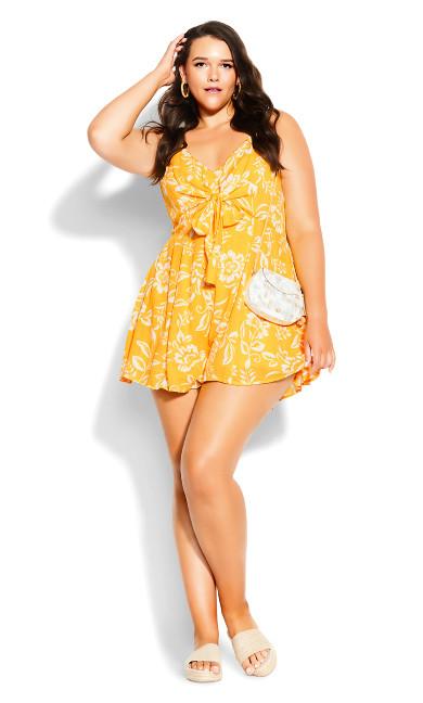 Summer Playsuit - golden
