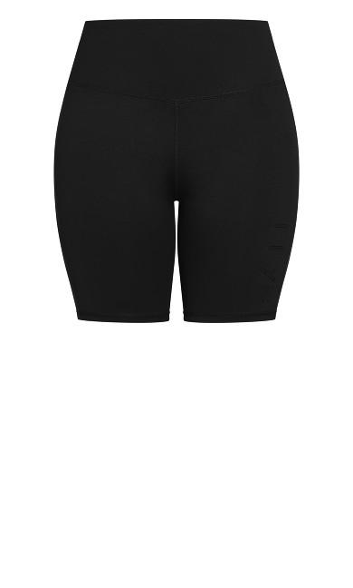 Bike Scrunch Short - black