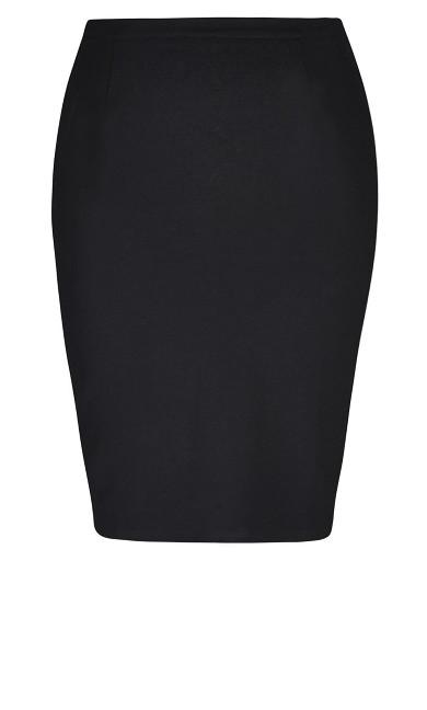 Midi Tube Skirt - black