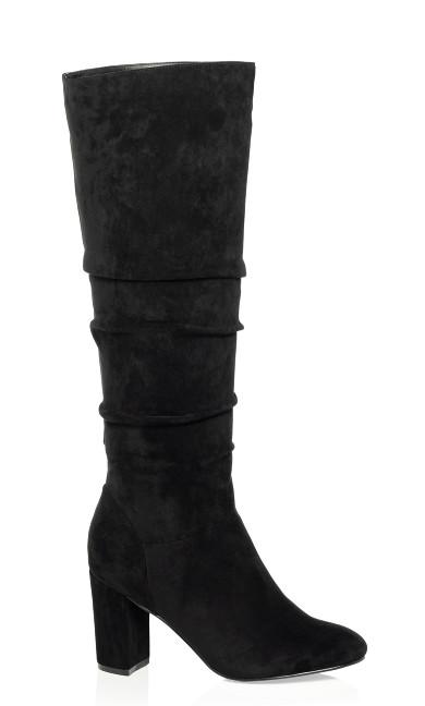 Petra Knee High Boot - black