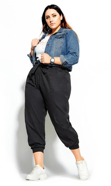Women's Plus Size Classic Denim Jacket