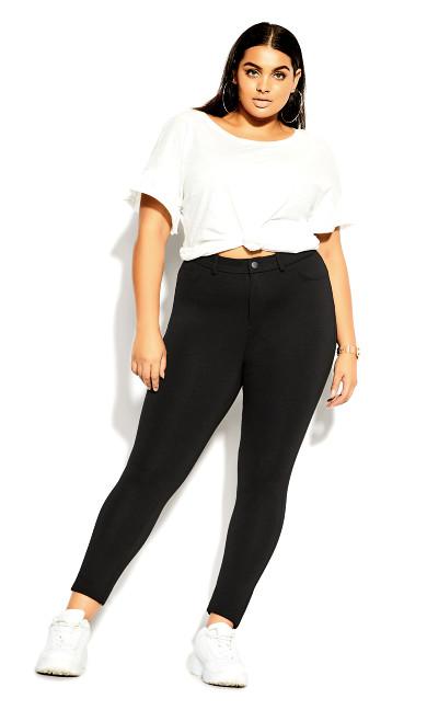 Subtle Pant Legging - black