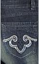 Skinny Blk Rocker Jeans