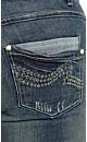 Love Bites Bootleg Jeans