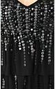 Tiered Sequin Delish Dress