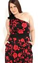 Red Rose Kiki Dress