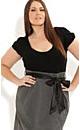 Short Sleeve Spot Skirt Dress