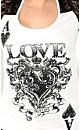 Ace of Love Grafitti Top