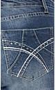 Nailhead Pocket Denim Short