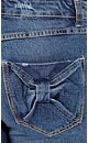 Skinny Bow Pocket Jean