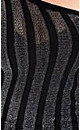 Split Sleeve Stripe Jumper