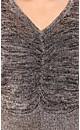 Copper Lurex Sweater