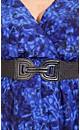 Graphic Cobalt Tunic