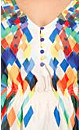 Psychedelic Print Top