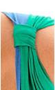 Layered Splash Color Top