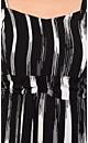 Black & White Print Dress