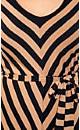 Caramel Stripe Dress