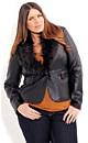Steveie Fur Collar Jacket