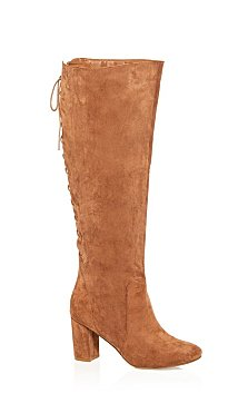 Perry Knee High Boot - chestnut