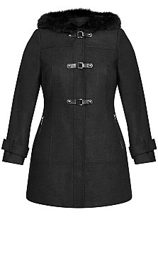 Wonderwall Coat - charcoal