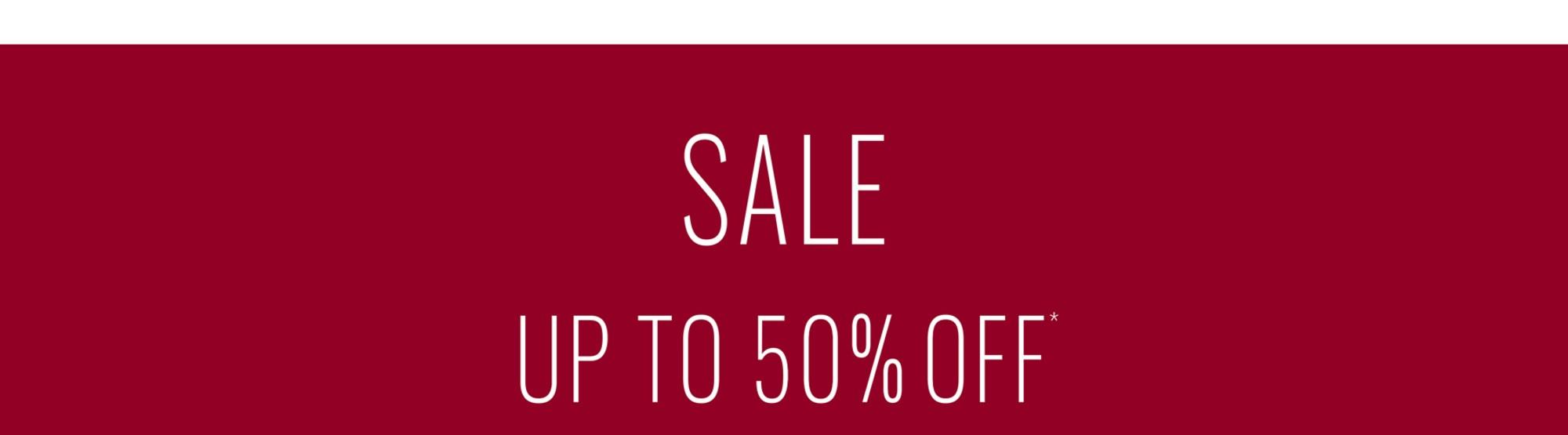 Upto 50% Off* Sale