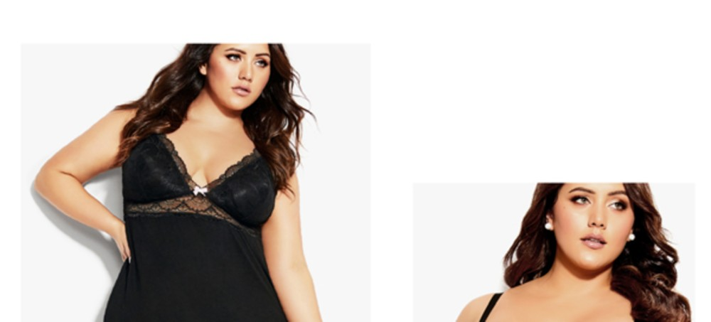 City Chic Lingerie & Sleepwear Collection