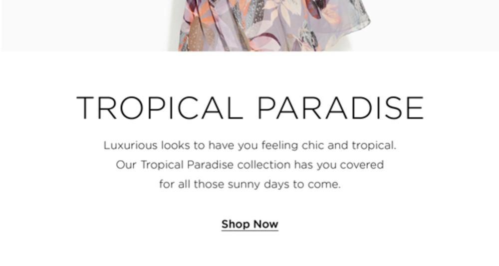 New Tropical Paradise Collection