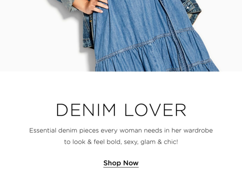 City Chic Denim Collection