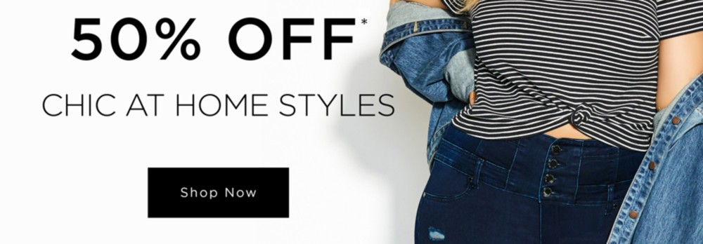 City Chic 30-50% Off* Chic At Home