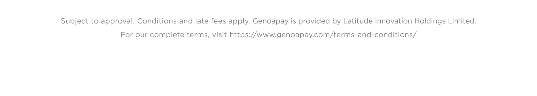 Genoapay - How to Shop In-Store
