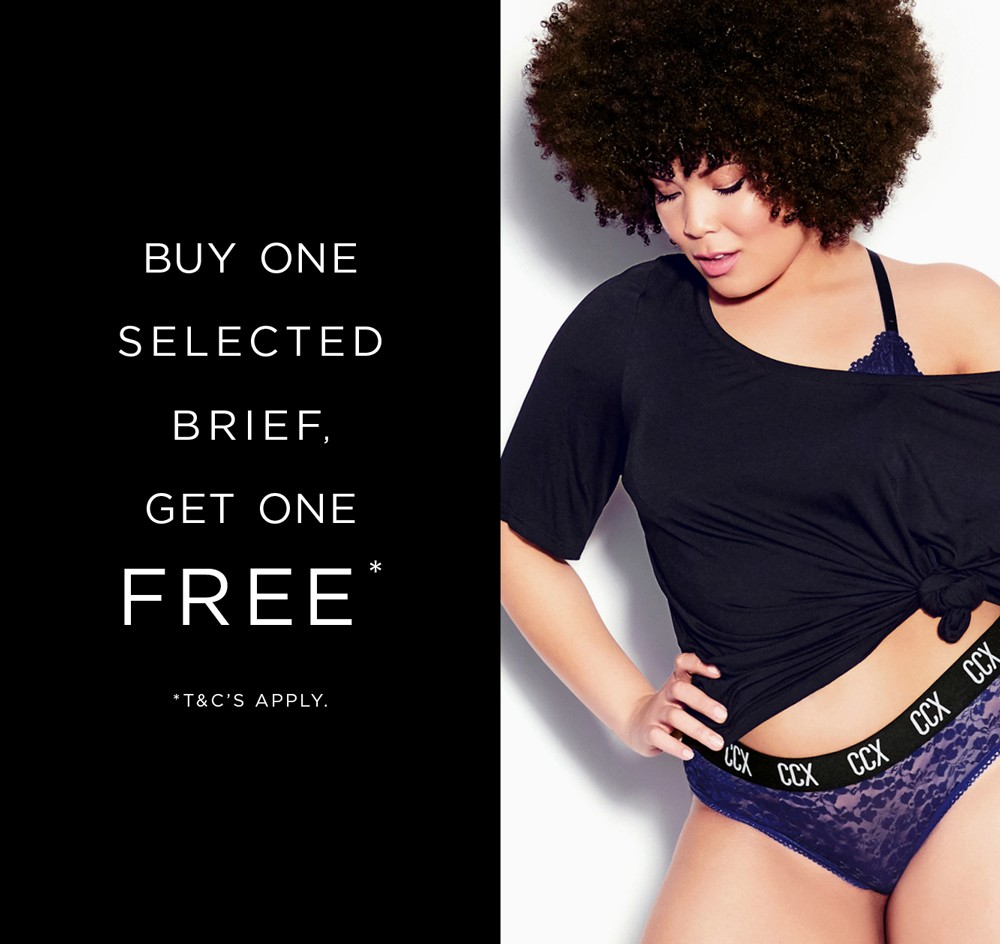 Buy one selected brief, get one free