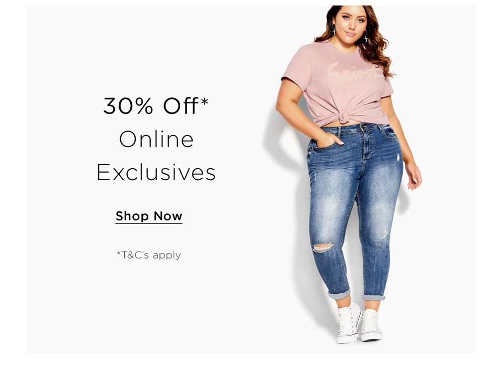 Shop City Chic Online Exclusive