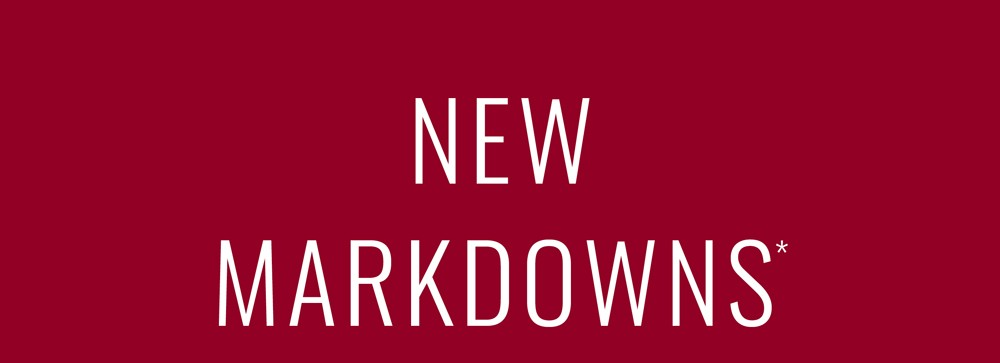 WK 35 - New Markdowns Added